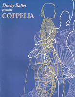 Duchy Ballet programme cover for Coppelia - 2001