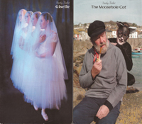 Duchy Ballet programme cover for Giselle & The Mousehole Cat - 2003