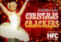 Duchy Ballet programme cover for Christmas Crackers 2011