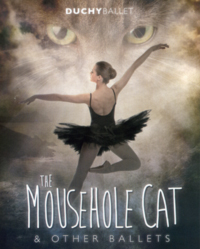 Duchy Ballet programme cover for The Mousehole Cat - 2014